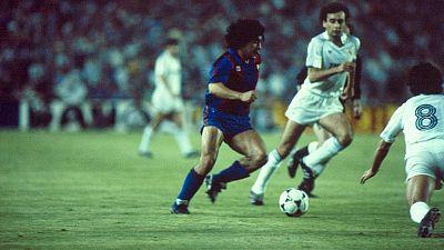 FC Barecelona - Real Madrid. Campeonato de Liga 1982/1983