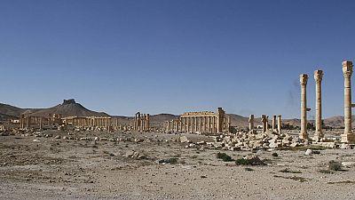 Encuentran en Palmira una fosa común con los restos humanos de más de 40 personas