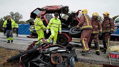 El conductor que causó el siniestro en Girona tenía el carné retirado y antecedentes