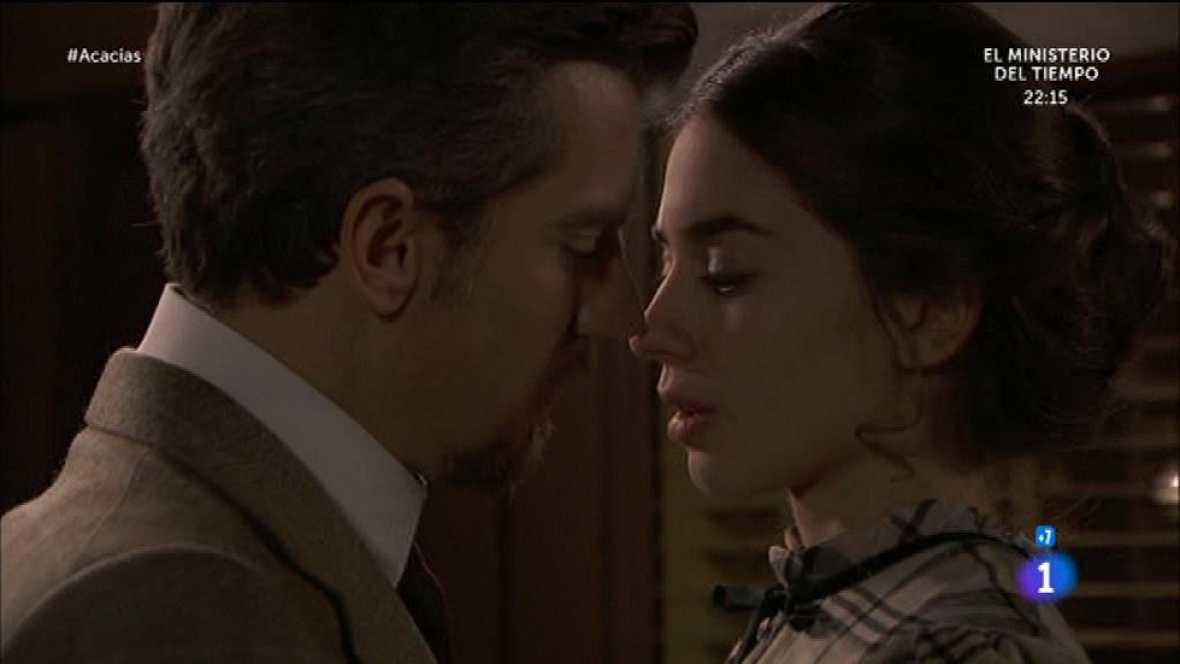 Acacias 38 - El primer y apasionado beso de Teresa y Mauro