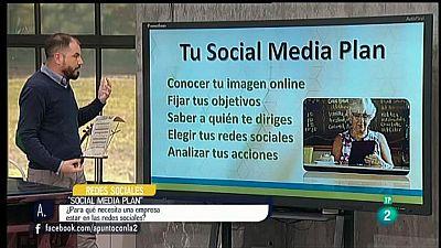 A punto con La 2 - Redes sociales - Social Media Plan