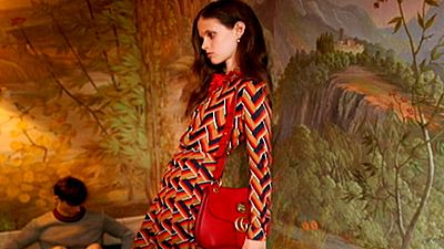 Prohibido en Reino Unido un anuncio de Gucci por la extrema delgadez de la modelo