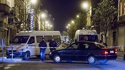 Nueva operaci�n policial en Bruselas