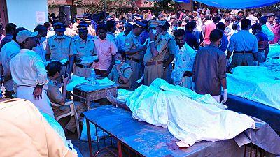 Tragedia en la India por una fuerte explosión en un templo