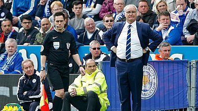 Ranieri no puede contener las lágrimas al ver cerca la liga con el Leicester