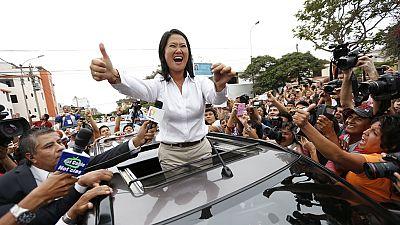 Keiko Fujimori gana la primera vuelta de las elecciones presidenciales en Perú