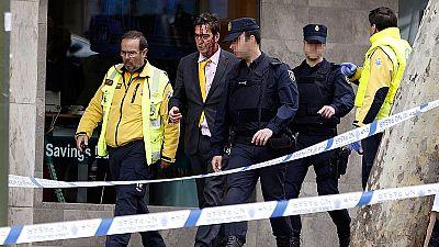 Un herido leve al sorprender a dos ladrones en un piso de Madrid