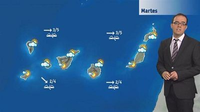El tiempo en Canarias - 12/04/16