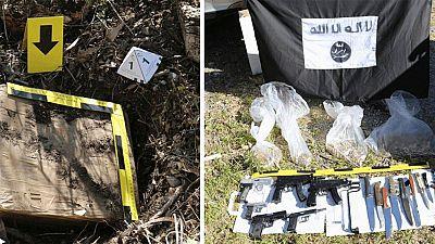 El análisis del material hallado en el zulo de Ceuta confirma que pertenecía al Estado Islámico