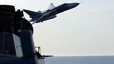 Aviones rusos sobrevuelan un barco de EE.UU. en el Báltico