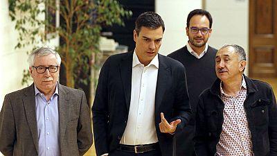 Pedro Sánchez intentará formar Gobierno hasta el último minuto y hace un nuevo llamamiento a Podemos