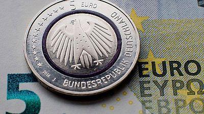 Alemania pone en circulación una nueva moneda de cinco euros