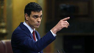 Sánchez exige a Rajoy que comparezca en el Congreso tras la renuncia de Soria