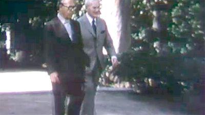 Arxiu TVE Catalunya - Joan Mir�; i Josep Lluis Sert. Fundaci� Mir�
