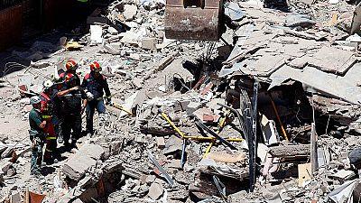 Localizan un sexto cuerpo en el derrumbe de Tenerife
