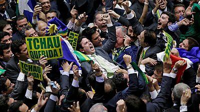 La Cámara de Diputados apoya la destitución de Rousseff y el Senado decidirá