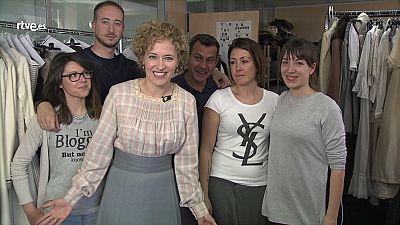 Charlamos con Marta Larralde desde el vestuario de Seis Hermanas