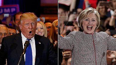 Trump y Clinton hacen valer su condici�n de favoritos y se llevan las primarias de Nueva York