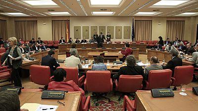 El Congreso constituye la Diputación Permanente con Podemos fuera de la Mesa