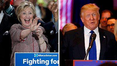 Clinton y Trump consolidan su ventaja en las primarias de EE.UU. con sus victorias en Nueva York