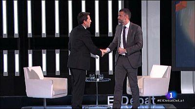 El Debat de La 1 - Entrevista a Santi Vila, conseller de cultura