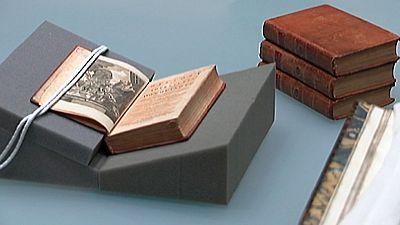 Cervantes  dejo huella en la biblioteca de Washington o Jefferson