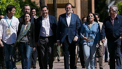 Rajoy acusa a PSOE y Ciudadanos de la repetición de elecciones