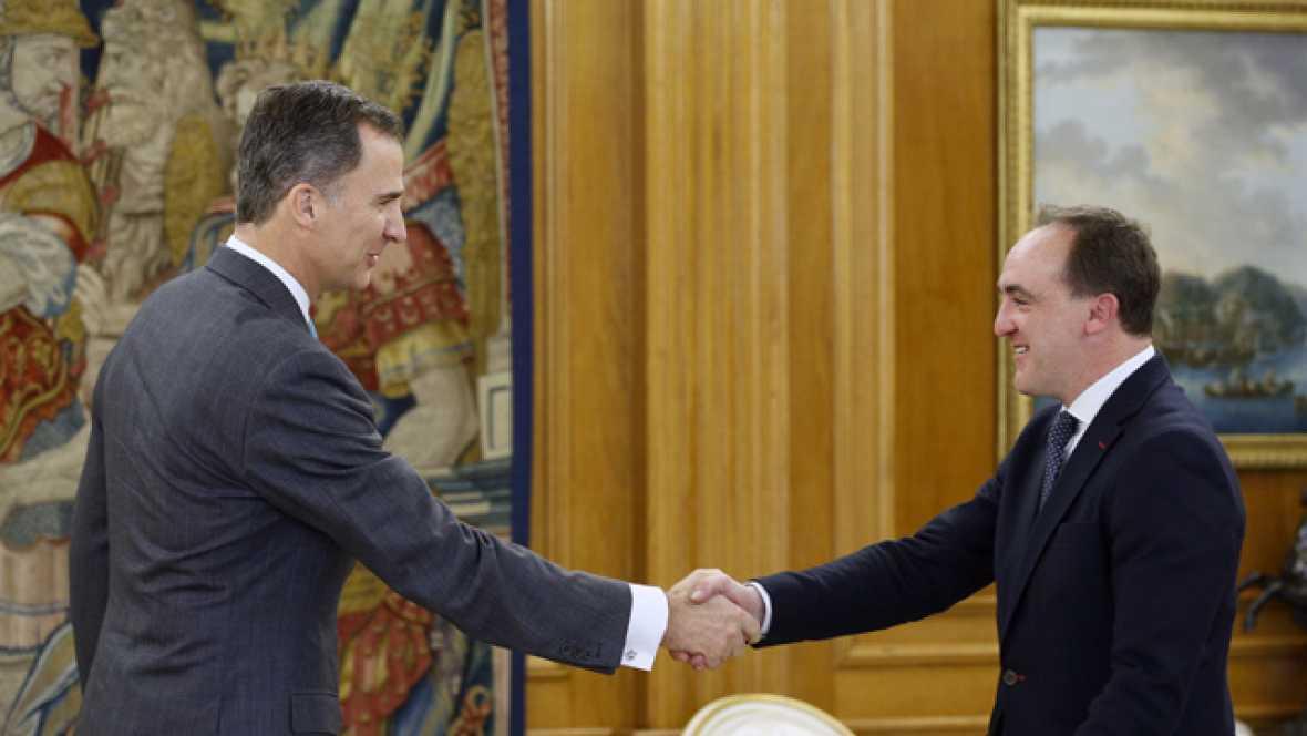 Javier Esparza (UPN) lamenta que PP y PSOE no hayan alcanzado un acuerdo de gobierno