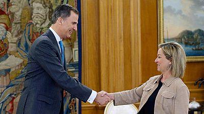 Felipe VI comienza la tercera ronda de consultas con los representantes de los partidos políticos