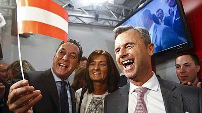 La ultraderecha gana la primera vuelta de las elecciones presidenciales en Austria