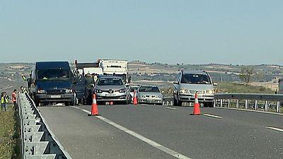 Un guardia civil mata a otro conductor tras una colisión de tráfico entre ambos