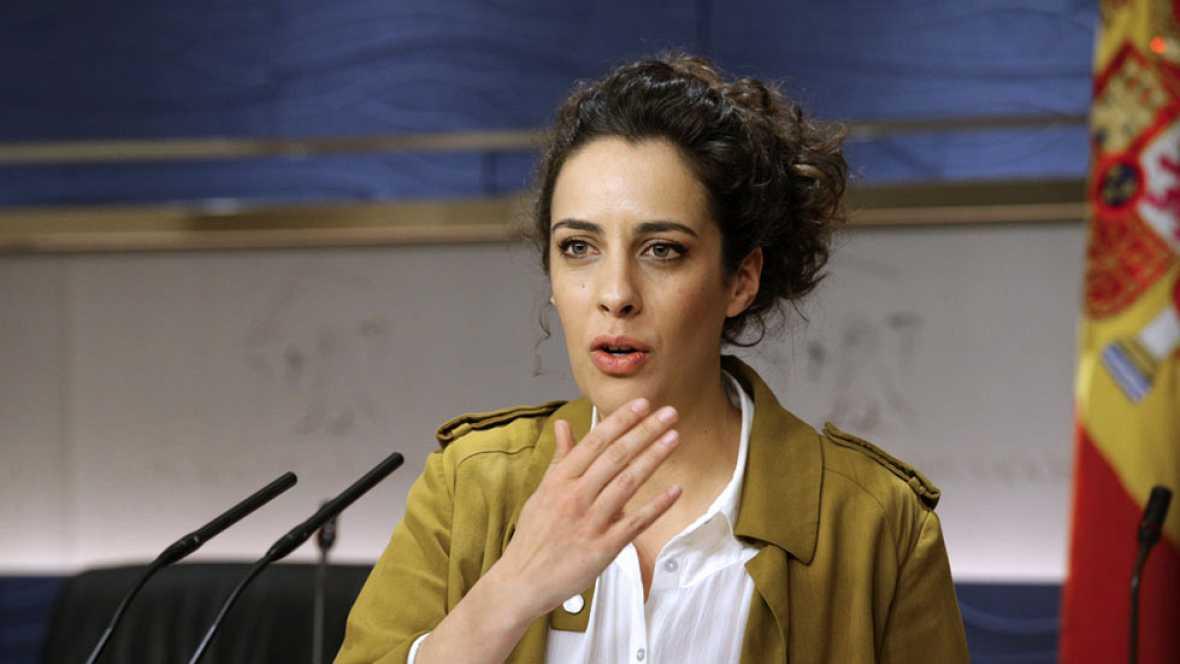 Alexandra Fernández de En Marea señala al PSOE como responsable de que se repitan las elecciones