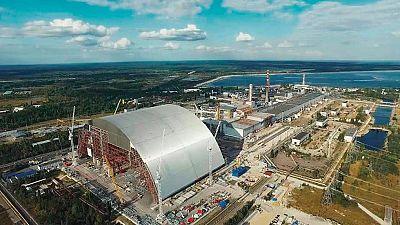 Una gran cúpula cubrirá el reactor 4 de Chernobil