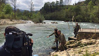 La pesca del salm�n