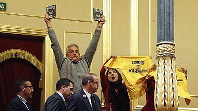 PP y PSOE tumban en el Congreso la comisi�n de investigaci�n por el accidente del Alvia en Santiago