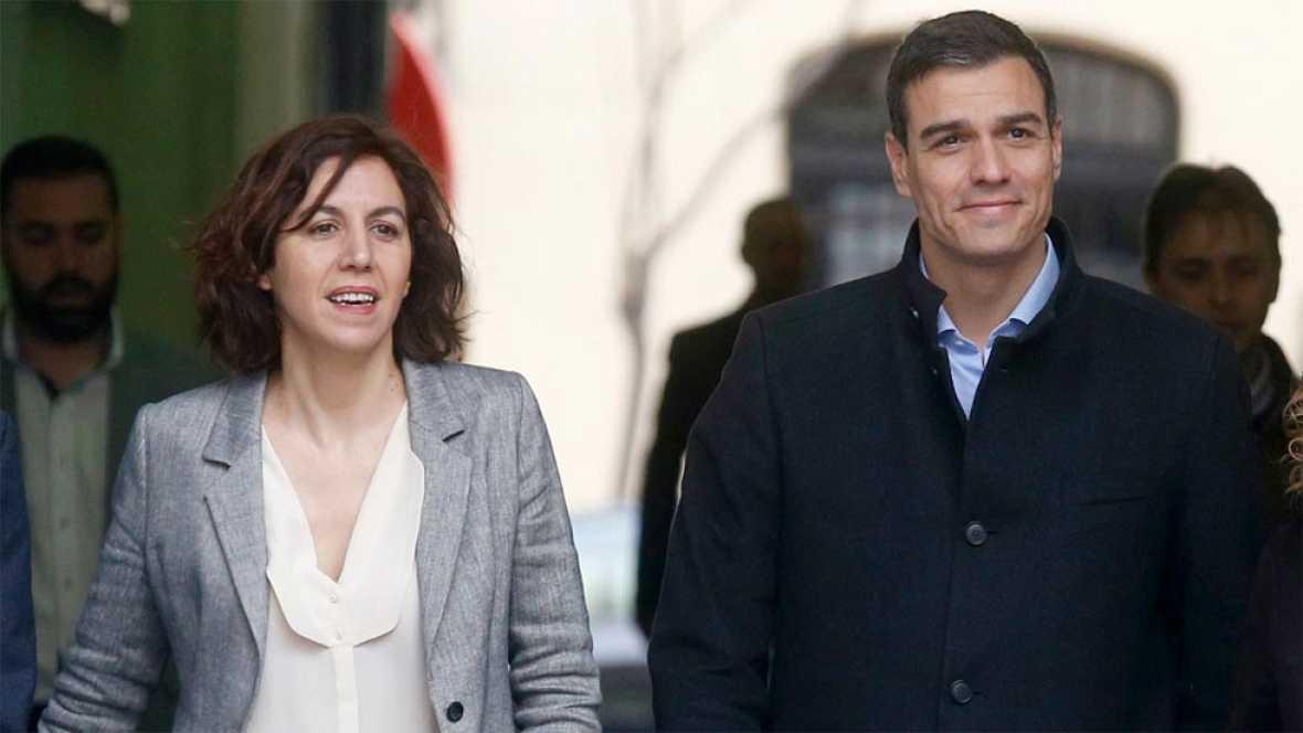Las diputadas Irene Lozano y Carme Chac�n anuncian que no repetir�n en las listas del PSOE el 26J