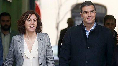 Las diputadas Irene Lozano y Carme Chacón anuncian que no repetirán en las listas del PSOE el 26J