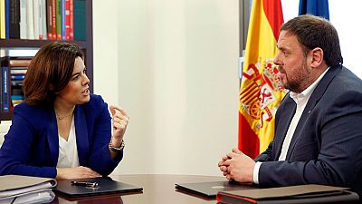 """Gobierno y Genaralitat inician el """"deshielo"""" con diferencias sobre el Constitucional y la financiaci�n"""