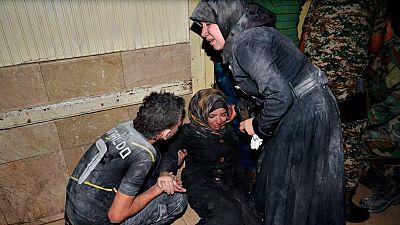 La ciudad siria de Alepo sufre una oleada de bombardeos con decenas de muertos