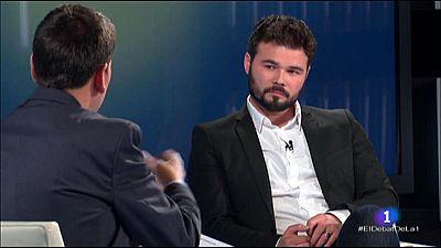 El debat de La 1 - Entrevista Gabriel Rufi�n
