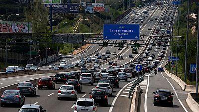Casi cinco millones de desplazamientos en el dispositivo de Tráfico para el puente de mayo