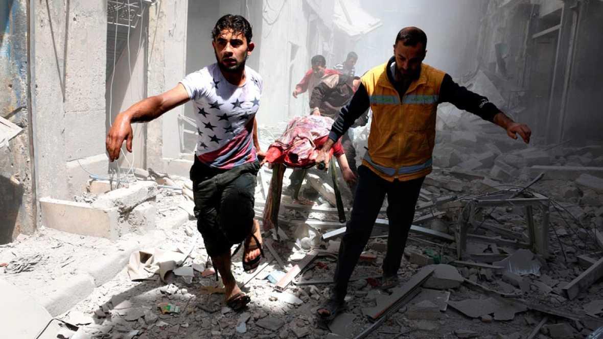 Alepo sufre otra oleada de bombardeos que pone en riesgo la tregua de Siria
