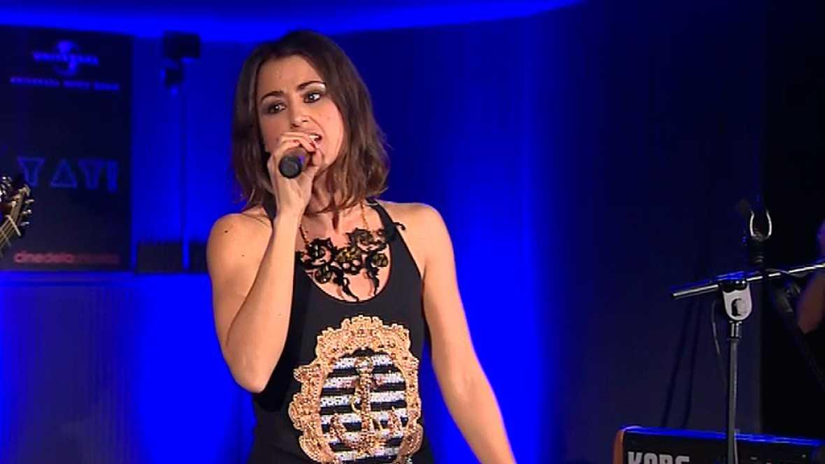 Eurovisi�n - Deslumbrante Barei en la primera Europarty celebrada en Espa�a
