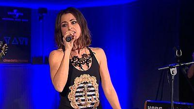 Eurovisión - Deslumbrante Barei en la primera Europarty celebrada en España