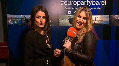Eurovisi�n 2016 -  Europarty desde el Palacio de la Prensa (Madrid) con Barei
