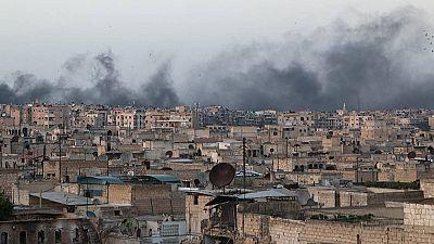 Alepo sufre una nueva jornada de bombardeos