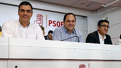 """Sánchez pide al PSOE """"unidad y confianza"""""""