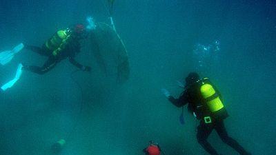 Recuperan los restos de 'La Isabella', un pecio del xiglo XIX hundido en la costa malagueña