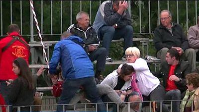 Cuatro detenidos por agredir a dos activistas que grababan un correbou en Tarragona