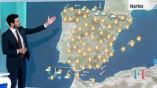 Jornada soleada en casi toda España con temperaturas en ascenso